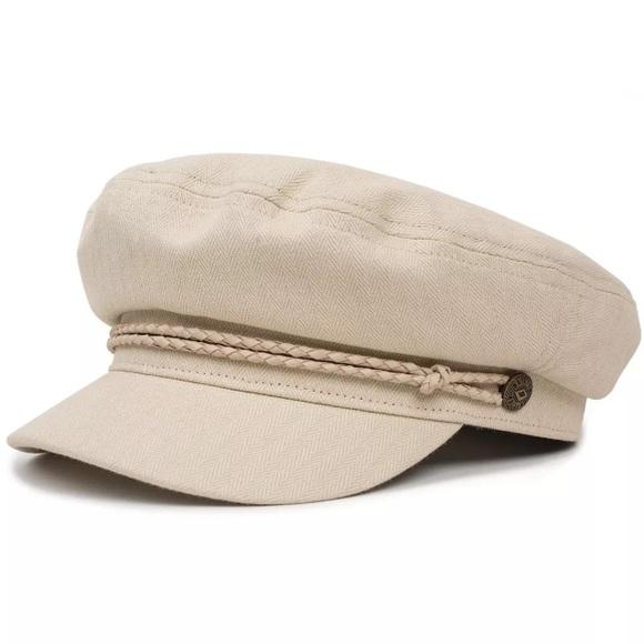 fde925a01 Size Small Brixton Cream Ashland Cabbie Hat